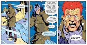 Watchmen- Manhattan kills Rorschach