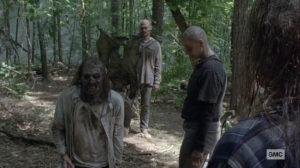 What It Always Is- Alpha cuts one of the Whisperers- AMC, The Walking Dead