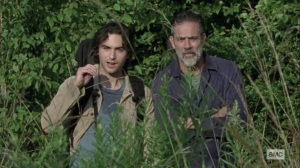 What It Always Is- Brandon and Negan watch walkers- AMC, The Walking Dead