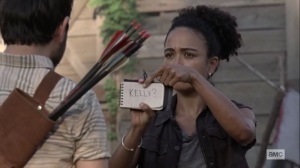 What It Always Is- Connie wants to know where Kelly is- AMC, The Walking Dead