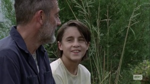 What It Always Is- Kid and Negan talk nut tapping- AMC, The Walking Dead