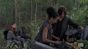 What It Always Is- Magna, Connie, and Daryl find Kelly- AMC, The Walking Dead