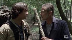 What It Always Is- Negan denies killing Carl- AMC, The Walking Dead