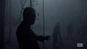 What It Always Is- Negan enters Whisperer territory and about to kill some walkers- AMC, The Walking Dead