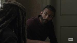 What It Always Is- Siddiq and Ezekiel talk- AMC, The Walking Dead