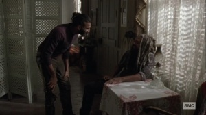 What It Always Is- Siddiq needs to check Ezekiel's cough- AMC, The Walking Dead