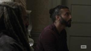What It Always Is- Siddiq tells Ezekiel about his problem- AMC, The Walking Dead