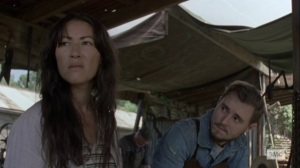 What It Always Is- Yumiko and Alden talk Kelly's disappearance- AMC, The Walking Dead
