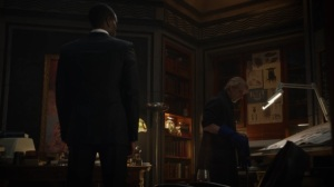 A God Walks Into a Bar- Adrian remembers trying to kill Jon- HBO, Watchmen