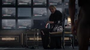 A God Walks Into a Bar- Adrian Veidt greets Jon- HBO, Watchmen