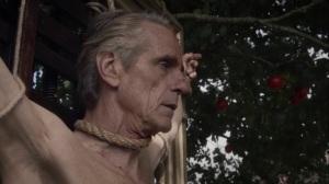 A God Walks Into a Bar- Adrian Veidt won't stay- HBO, Watchmen