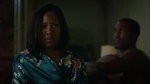 A God Walks Into a Bar- Angela asks Jon to leave- HBO, Watchmen