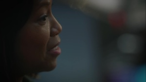 A God Walks Into a Bar- Angela can't believe that Manhattan already loves her- HBO, Watchmen