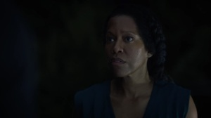 A God Walks Into a Bar- Angela wants Jon to ask her grandfather how he knew about Judd Crawford- HBO, Watchmen