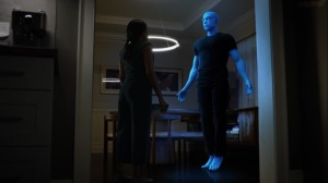 A God Walks Into a Bar- Doctor Manhattan returns- HBO, Watchmen