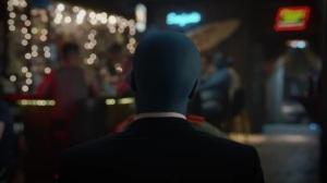 A God Walks Into a Bar- Manhattan and Angela talk at the bar in Saigon- HBO, Watchmen