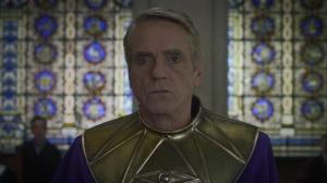An Almost Religious Awe- Adrian Veidt presents his defense- HBO, Watchmen