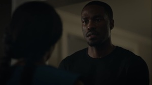 An Almost Religious Awe- Cal tells Angela that she's not herself right now- HBO, Watchmen