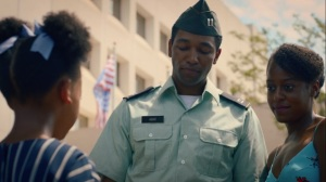 An Almost Religious Awe- Marcus Abar, played by Anthony Hill, and Elise Abar, played by Devyn A. Tyler, talk with Angela- HBO, Watchmen