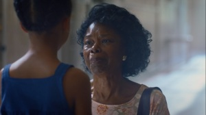 An Almost Religious Awe- Older June, played by Valeri Ross, meets Angela for the first time- HBO, Watchmen