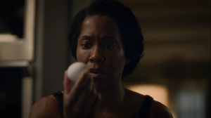 See How They Fly- Angela holds an egg- HBO, Watchmen