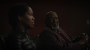 See How They Fly- Angela reunites with Will at the theater- HBO, Watchmen