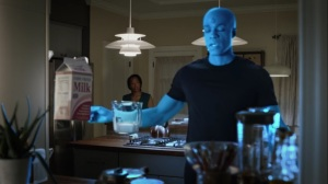 See How They Fly- Jon makes waffles in a flashback- HBO, Watchmen