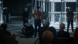 See How They Fly- Keene delivers a speech to the Seventh Kavalry- HBO, Watchmen