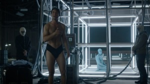See How They Fly- Keene in his underwear- HBO, Watchmen
