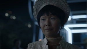 See How They Fly- Lady Trieu tells Jane that she's about to kill them all- HBO, Watchmen
