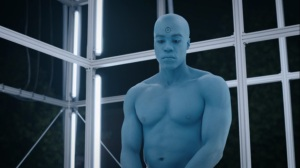 See How They Fly- Manhattan in the cell- HBO, Watchmen