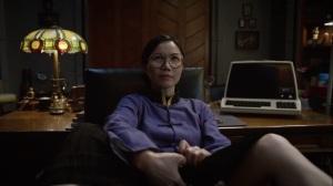 See How They Fly- Veidt's worker inseminates herself with Veidt's semen- HBO, Watchmen