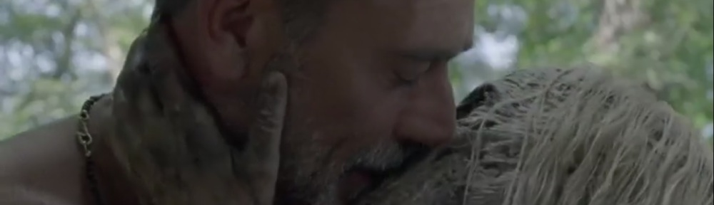 Squeeze- Alpha and Negan kiss- AMC, The Walking Dead