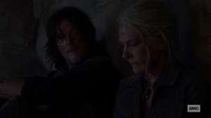 Squeeze- Daryl and Carol talk- AMC, The Walking Dead