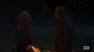 Morning Star- Alpha tells Negan that the survivors will join her as part of the horde- AMC, The Walking Dead