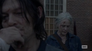 Morning Star- Carol doesn't want Daryl to hate her- AMC, The Walking Dead