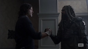 Morning Star- Daryl and Ezekiel make an agreement- AMC, The Walking Dead