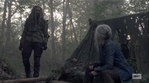 Morning Star- Ezekiel finds Carol- AMC, The Walking Dead
