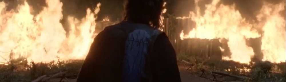 Morning Star- Hilltop burns- AMC, The Walking Dead