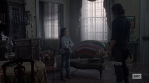 Morning Star- Judith tells Daryl that she wants to stay and fight- AMC, The Walking Dead