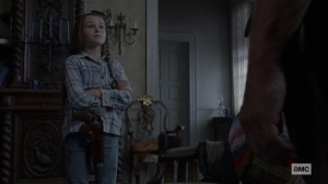 Morning Star- Judith tells Daryl why she is afraid- AMC, The Walking Dead