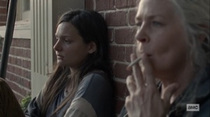 Morning Star- Lydia and Carol talk about Alpha- AMC, The Walking Dead