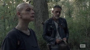 Morning Star- Negan has some advice for Alpha- AMC, The Walking Dead