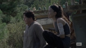Morning Star- Rosita wants Eugene to maintain contact with Stephanie- AMC, The Walking Dead