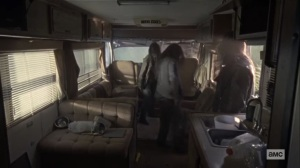 Stalker- Beta arrives at an RV- AMC, The Walking Dead