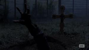 Stalker- Beta emerges from underground- AMC, The Walking Dead