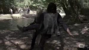 Stalker- Daryl battles Alpha- AMC, The Walking Dead