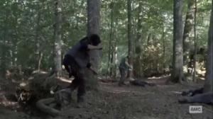 Stalker- Daryl stalks some Whisperers- AMC, The Walking Dead