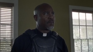 Stalker- Gabriel is itching for a fight- AMC, The Walking Dead