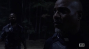 Stalker- Gabriel realizes what the Whisperers may be planning- AMC, The Walking Dead